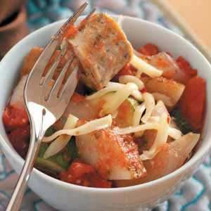 Italian Sausage and Vegetables