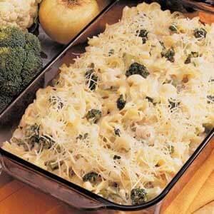 Creamy Vegetable Pasta Bake