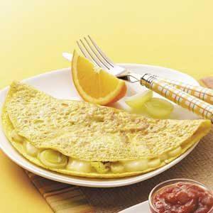 Leek 'n' Brie Omelet
