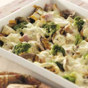 Chicken and Broccoli Company Casserole