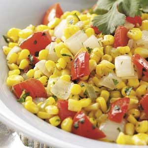 Southwest Corn and Tomatoes