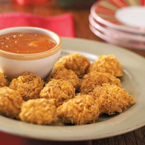 Chicken Bites with Apricot Sauce