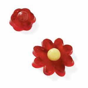 Cherry Gelatin Flowers