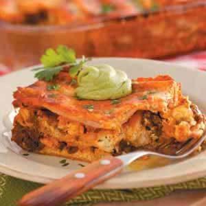 Chicken Chorizo Lasagna