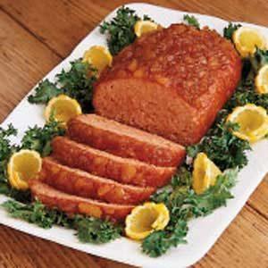 Pineapple Ham Loaf