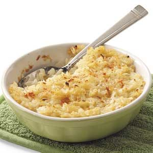 Sweet Onion Rice Casserole