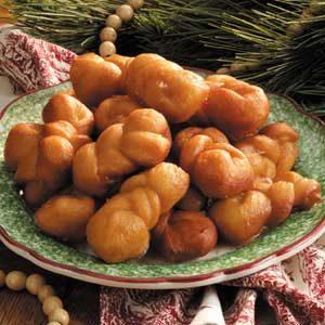 Cinnamon Doughnut Twists