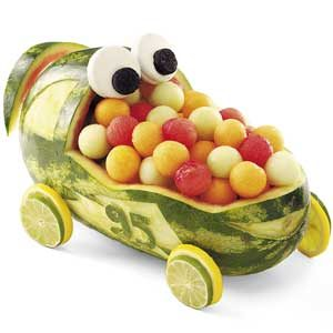 Watermelon Race Car