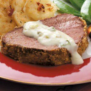 Breaded Beef Tenderloin