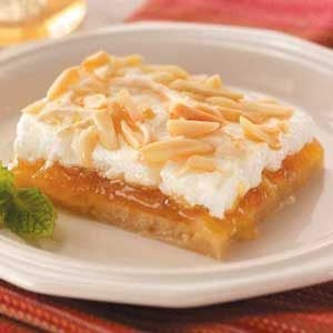 Peach Almond Bars