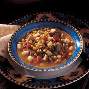 Pueblo Green Chili Stew