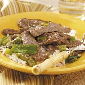 Teriyaki Beef Stir-Fry for 2