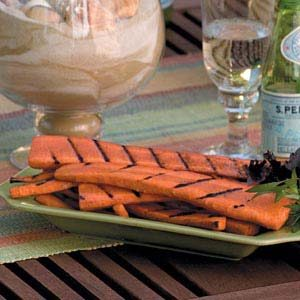 Carrots on the Grill