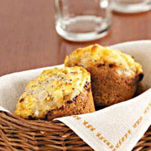 Savory Onion Muffins