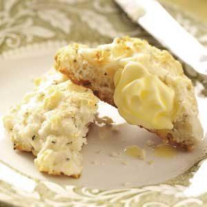 Herbed Sour Cream Biscuits