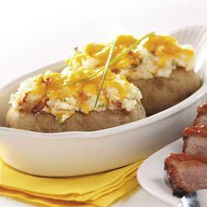 Bacon Twice-Baked Potatoes