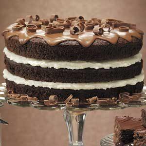 Fudgy Pudgy Cake