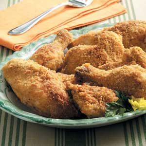 Oven-Fried Parmesan Chicken