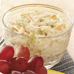 Creamy 'n' Tangy Coleslaw