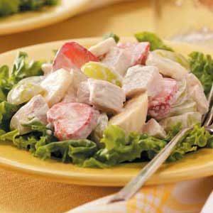 Chicken 'n' Fruit Salad