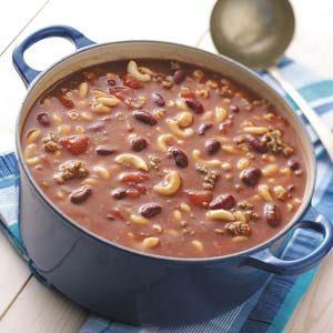 Beefy Bean Soup