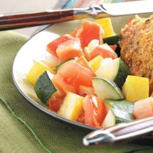 Tomato Zucchini Saute