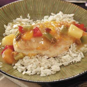 Tropical Mandarin Chicken