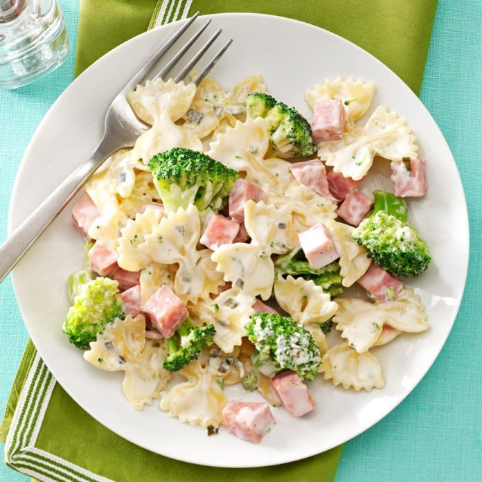 Ham & Broccoli Pasta