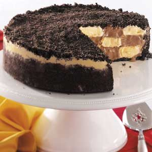 Checkerboard Ice Cream Cake