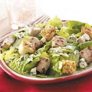 Focaccia Pork Salad