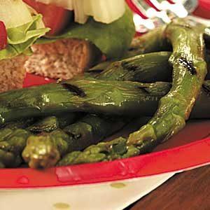 Asparagus with Mustard Vinaigrette