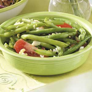 Summery Fresh Green Bean Salad