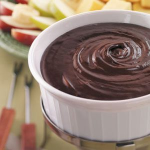 Double Chocolate Fondue
