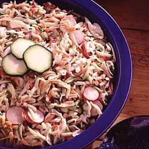 Zucchini Coleslaw