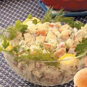 Creamy Herbed Potato Salad