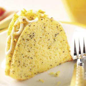 Poppy Seed Citrus Cake