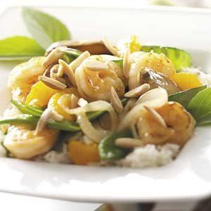 Garlic Almond Shrimp