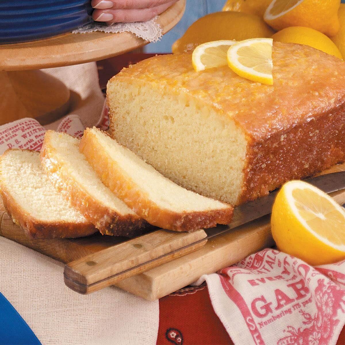 Golden Lemon Bread Recipe