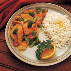 Orange Turkey Stir-Fry