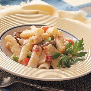 Creamy Pepperoni Ziti