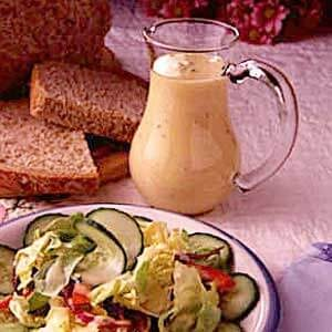 Honey Mustard and Parsley Salad Dressing