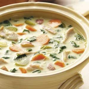 Curried Turkey Vegetable Soup