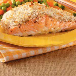Mustard-Crusted Salmon