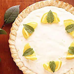 Orange Chiffon Pie