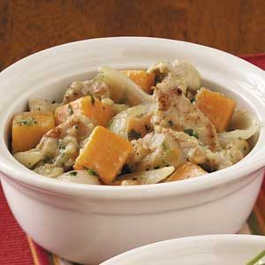 Sweet Potato and Pork Stew