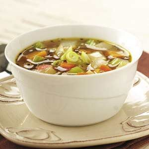 Winter Harvest Vegetable Soup