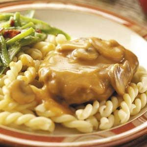 Salisbury Steak with Gemelli