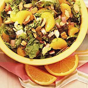 Fast Mandarin Almond Salad