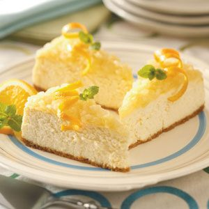 Cheesecake with Pineapple