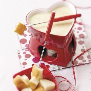 Simple Swiss Cheese Fondue